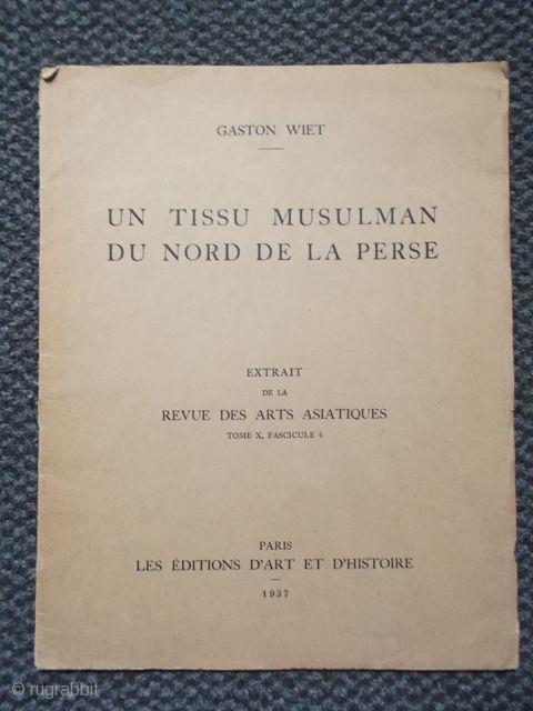 Gaston Wiet: Un Tissu Muslman du Nord de la Perse