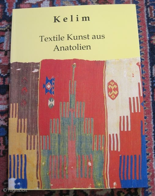 Kelim, Textile Kunst aus Anatolien, book, german