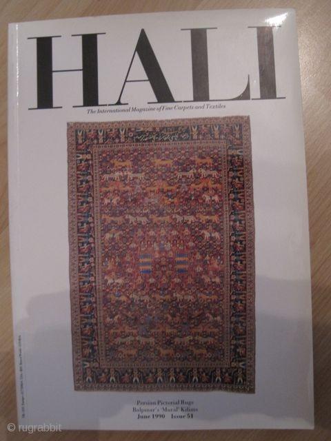 Hali Magazine, Issue 51, June 1990