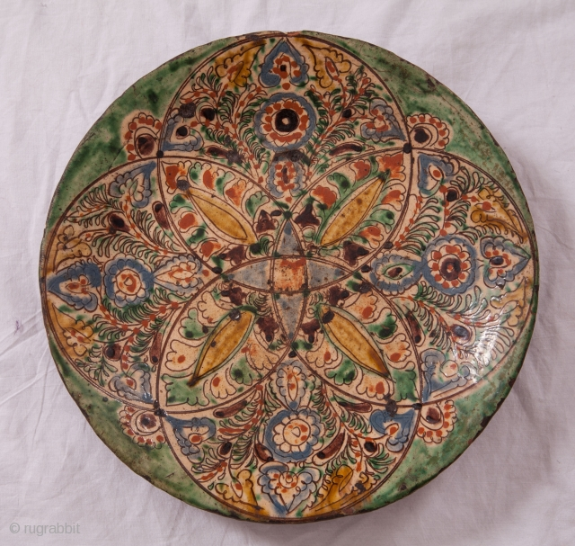 Central asian Plate Diameter: 36 cm / 14 inches
