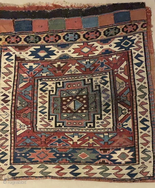 Persian Shahsavan bagface , 57x54cm