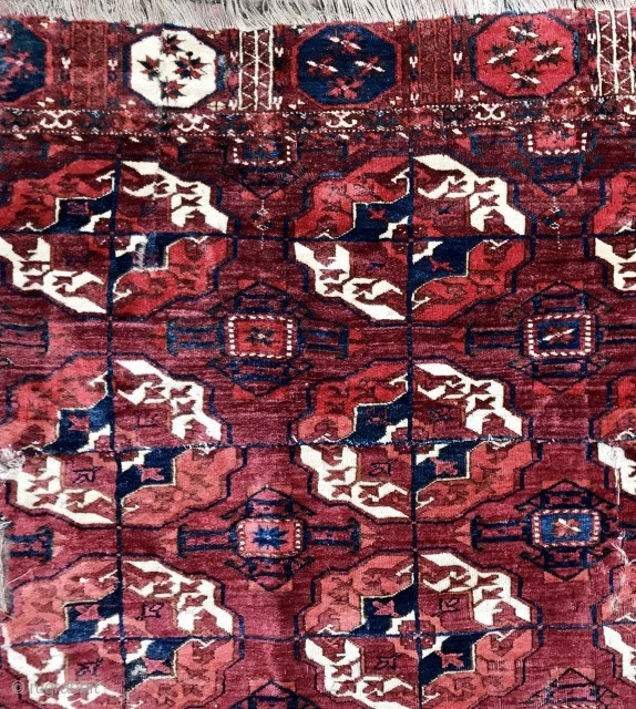 Glorious Tekke Main Carpet Fragment