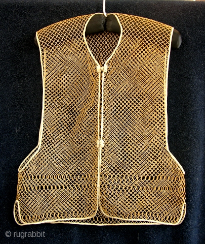 Antique Chinese Bamboo Vest