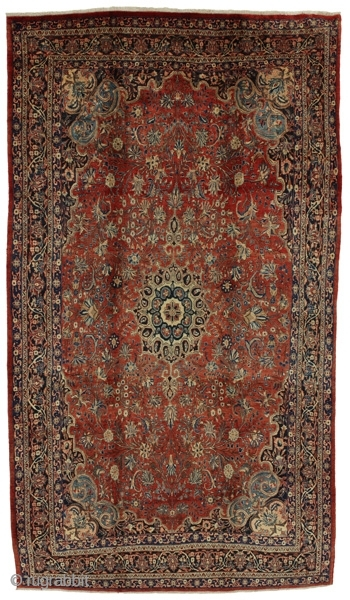Antique Bijar Persian Carpet. More information https://www.carpetu2.com