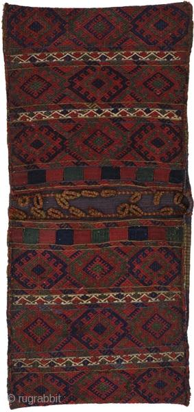 Jaf - Saddle Bag Persian Textile. See more details https://www.carpetu2.com