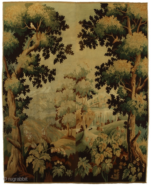 """Tapestry Textile 10'4""""x8'1""""(315x248cm) See more details here: https://www.carpetu2.co.uk/id/ant192-RO4514/Classic,Antiques,Textiles,Offers,Tapestry,/"""