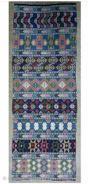 Swedish kilim, size: 114*46 cm, wall hanging.