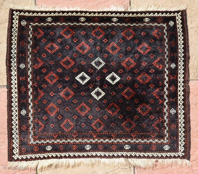 Classic Baluch Taimuri Bag, it has amazing color, wool and very fine knotted