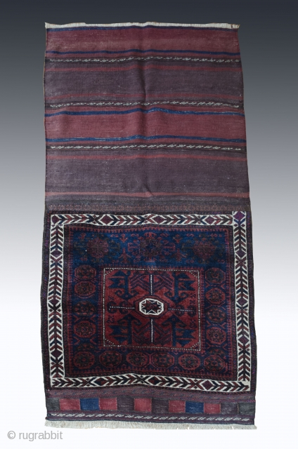 #Antique Baluch bagface 