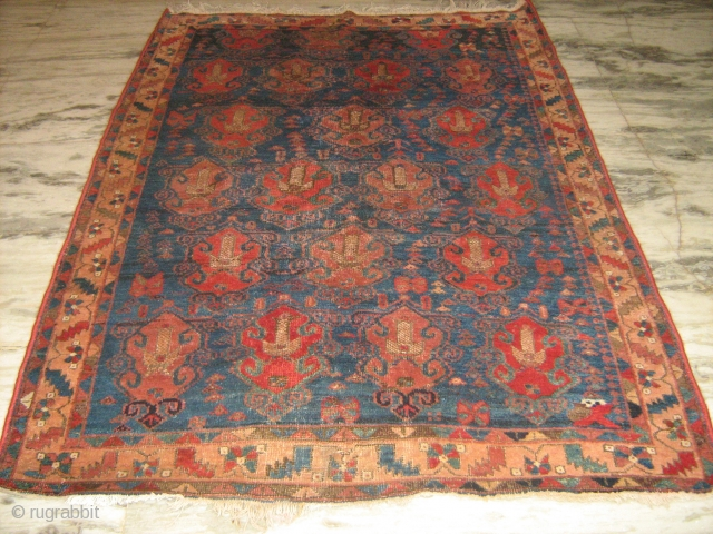 19th C Persian Afshar rug