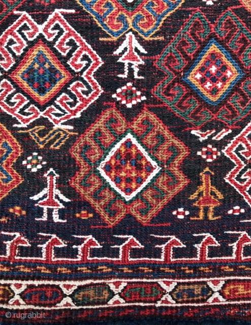 Bahtiyar saddle bag all colors natural dyes and very nice design. Size 68x47cm 68x48cm