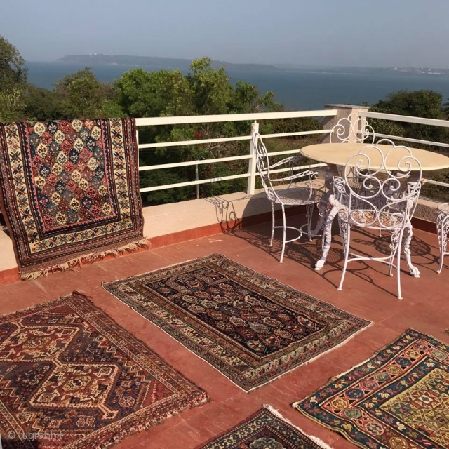 SUNBATHED rugs - letting go of a few ... Details here: https://wovensouls.com/collections/antique-rugs-location2