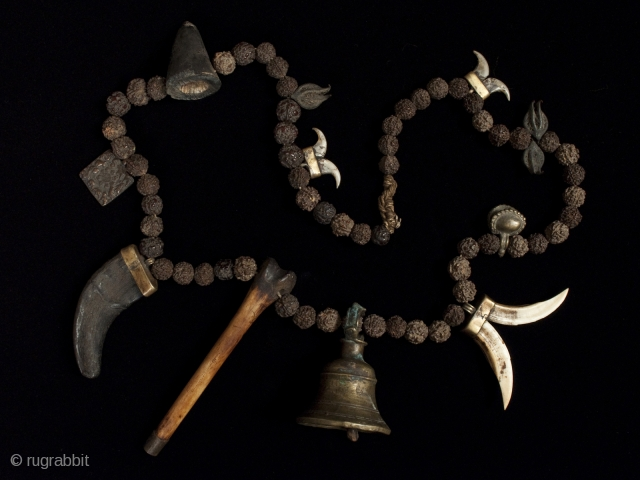 Shaman's mala,