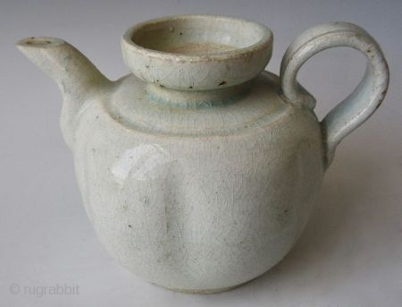 Antique Chinese Qingbai Porcelain Teapot