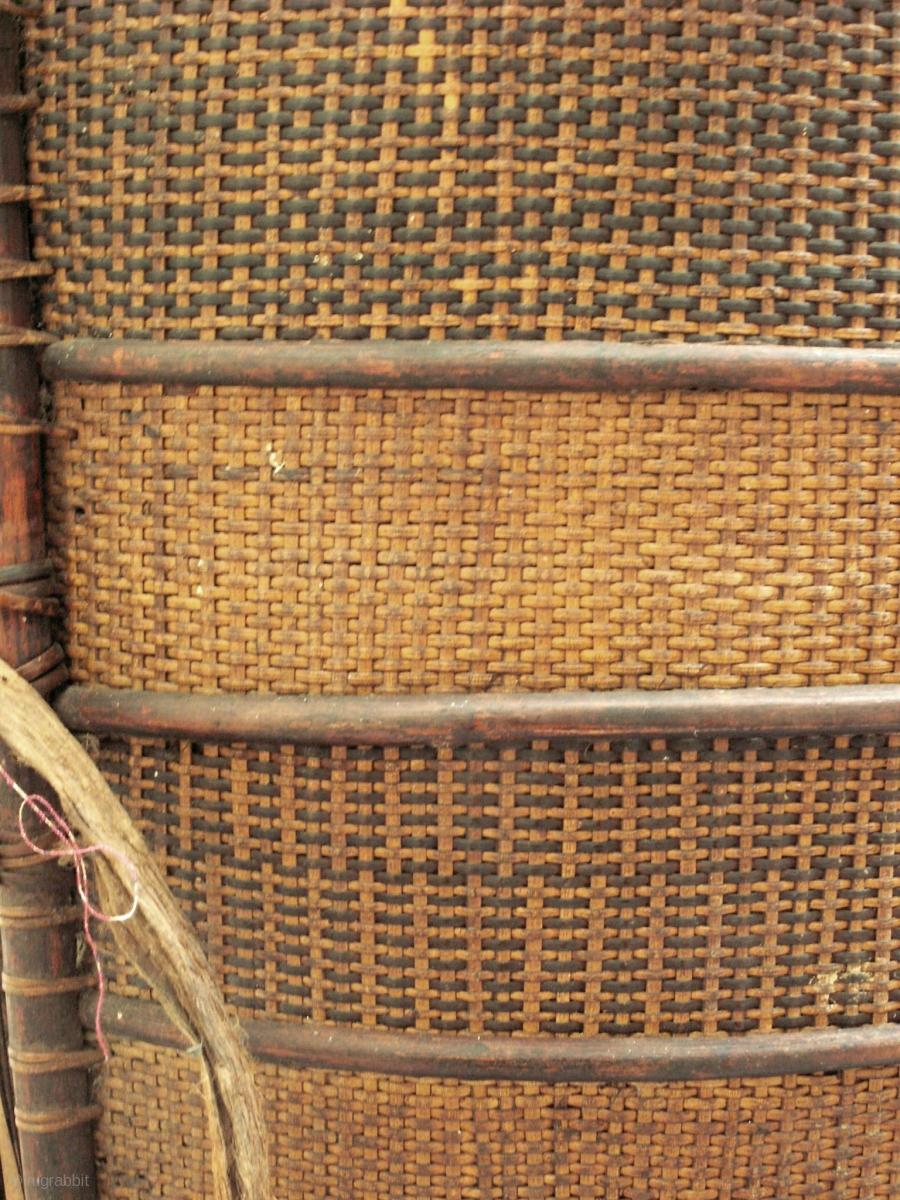 Bidayuh Basket Rrare Late 19th Early 20th Ce Storage Basket From The Bidayuh People Of Sarawak