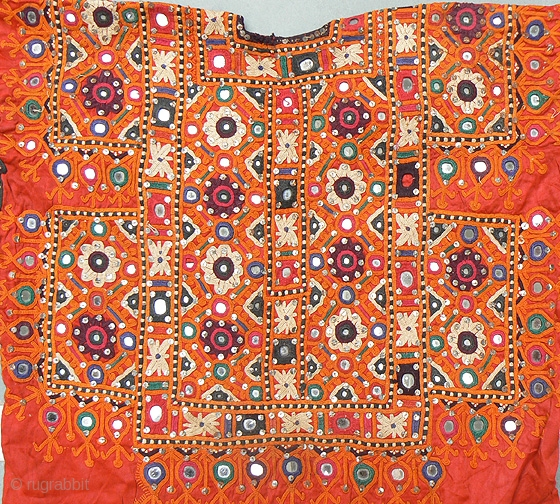 Nice Old Wedding Choli From Kutch Area Of India Probably
