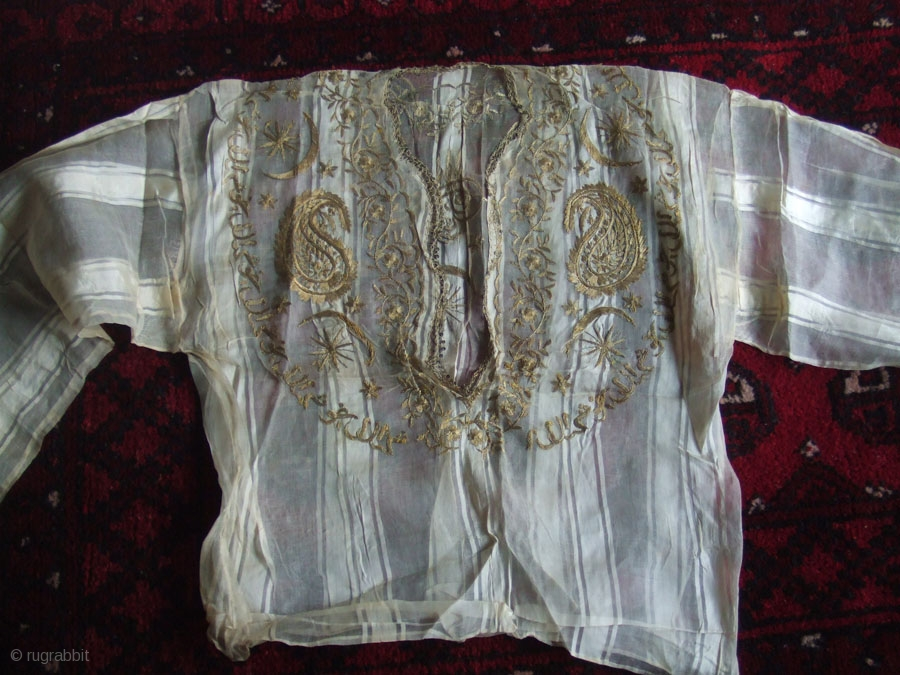 Antique Ottoman Turkish Hand Embroidery I Have Ever Seen The Front