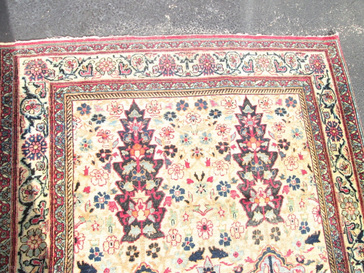 Awesome Antique Khorassan Oriental Rug Size 4 X6 7