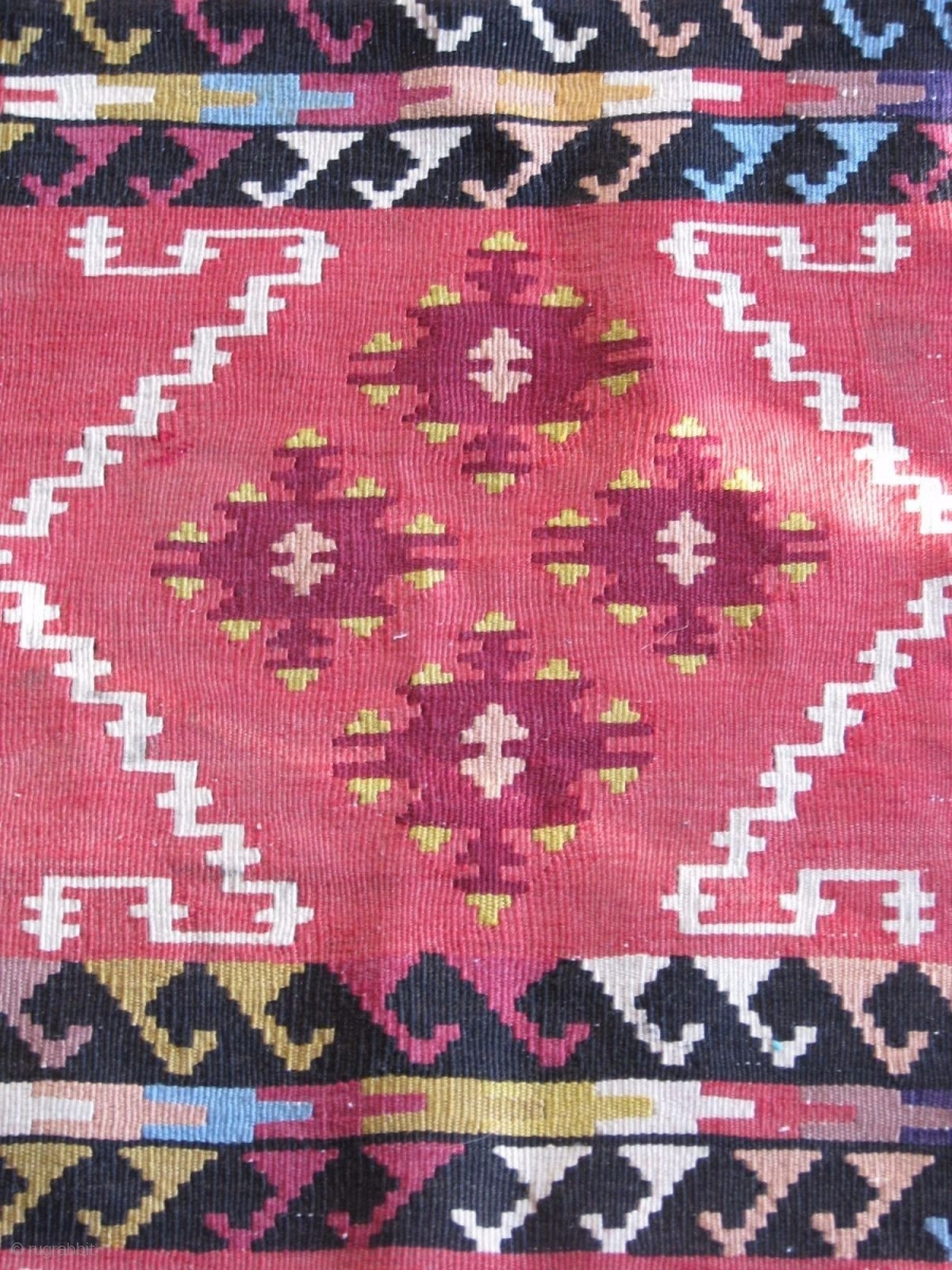 Sarkoy Pirot Kilim Runner All Wool And Great Condition