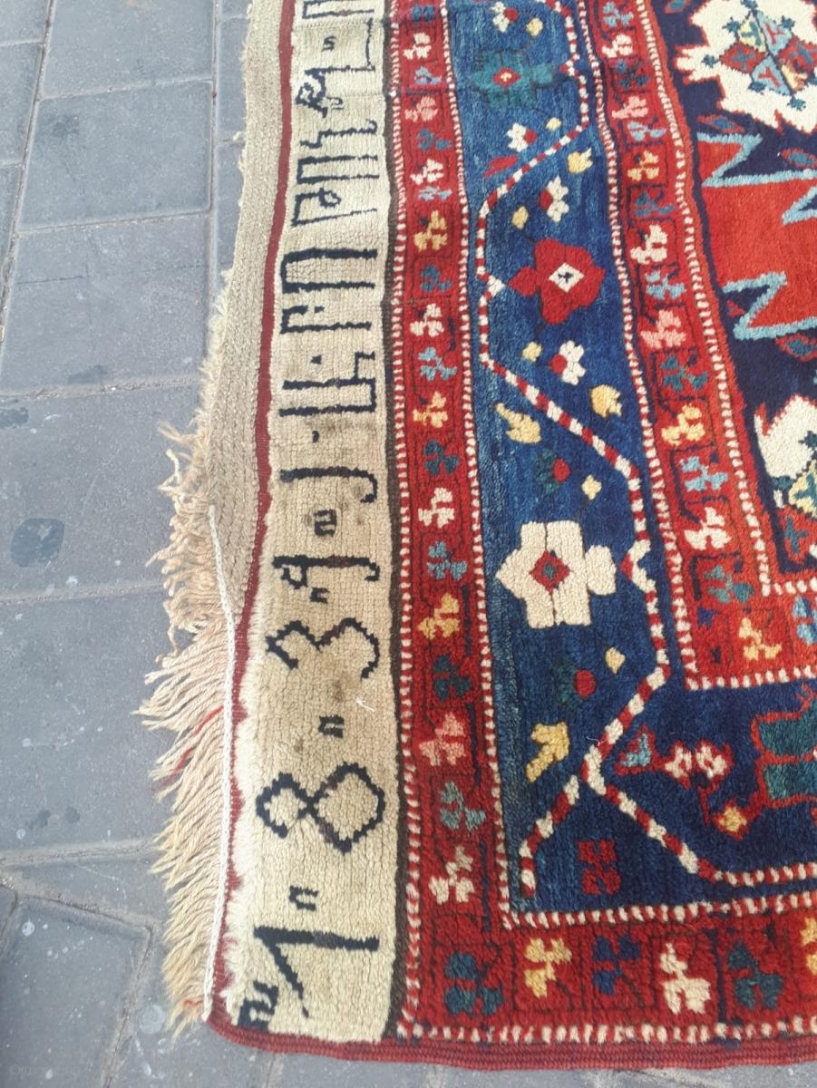 Very impressive Armenian rug in