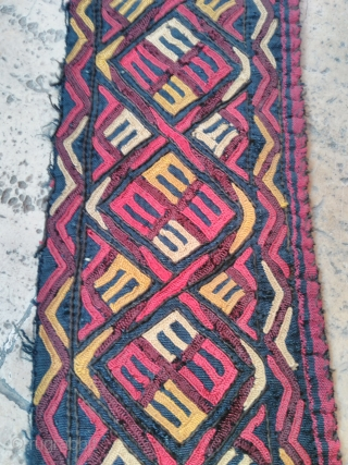Turkmen Silk embroidery good condition