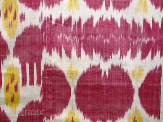 See this spectacular 19th century Bokhara silk ikat on my stand at LARTA next week. The London Antique Rug and Textile Art Fair, 22nd January - 27th January 2019. www.larta.net