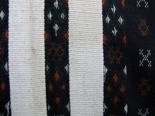 Chin Men's Ceremonial Blanket: Men's tunic from the Chin ethnic group, most likely from the Hakha Township, Chin State, Myanmar. I purchased this in the 1990s and it is not very old-  ...