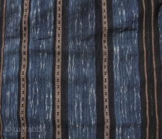 Indigo Ikat Li Minority Blanket