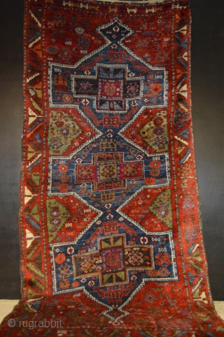 Eastern Anatolian Rug Perfect condition great color  size 3'9X7'7