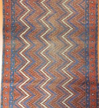 Antique Baluch Rug Size.175x90 cm
