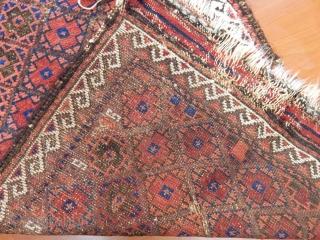 Antique Baluch Rug Size.100x75cm