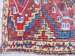 Antique East Anatolian Kurdish Rug 