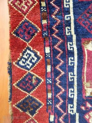 Antique East Anatolian Yörük Prayer Rug  size.140x65cm