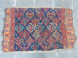 Antique Norwest Persian Rug Fragment