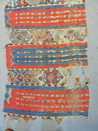 Antique East Anatolian Kilim Fragment