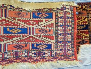 Antique Turkmen Tekke Bagface
