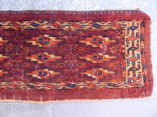 Antique Turkmen Yamut Torba