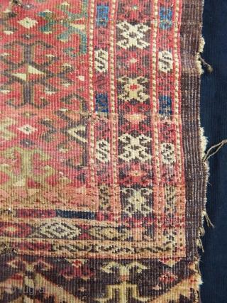 Antique Turkmen Chodor Chuval Fragment  size.77x88cm