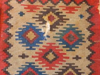Antique Shasavan Kilim Bagface
