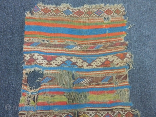 Antique West Anatolian Chuval Kilim