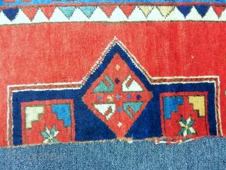 Antique Kazak Rug Fragment