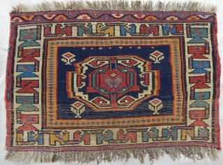 Antique Veramin Rug Bagface