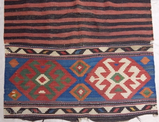 Antique Shahsavan Kilim  Size.160x108 cm