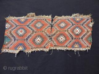 Antique Borjalı Sumak Bag Faces
