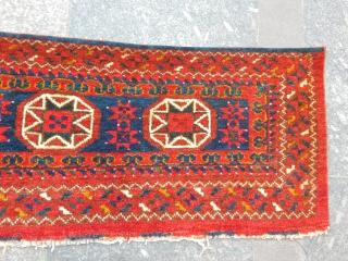 Antique Ersari Rug Trapping