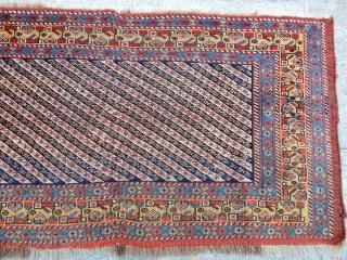 Antique Khamse Rug Panel  Size.58x120cm