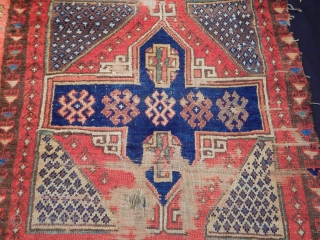 Antique Central East Anatolian Sivas Rug Fragment
