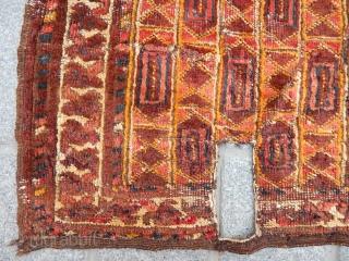 Antique Uzbek Saddle Cover