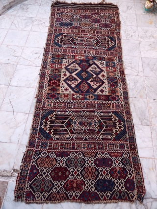 Antique East Anatolian Erzurum Kilim 