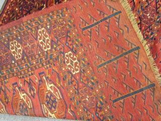 Antique Turkmen Kızılayak Chuval